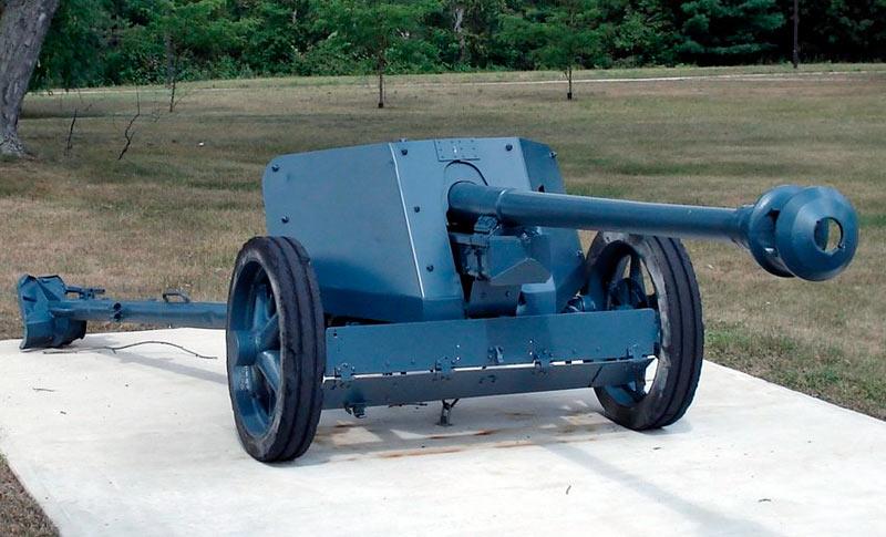 75-мм противотанковая пушка PaK-40 обр. 1939 г. (Германия)