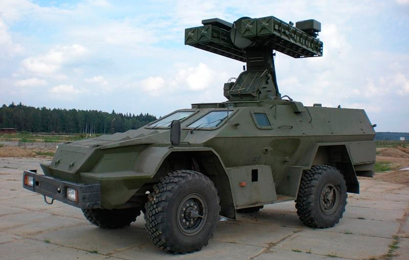 Вариант КамАЗ-43269 с зенитным ракетным комплексом «Стрела-10М»