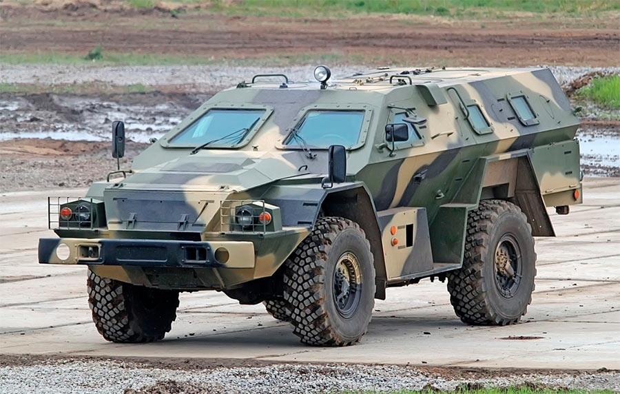 Бронеавтомобиль КамАЗ-43269 «Выстрел» (БМП-97)