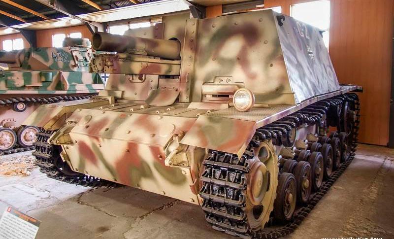 Штурмовое пехотное орудие SturmInfanterieGeschuetz 33 (StuIG 33)