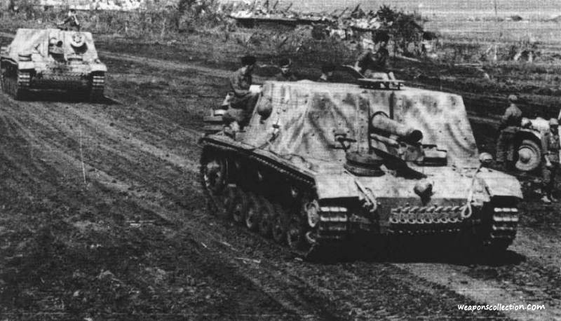 StuIG 33 на Восточном фронте