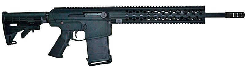 А вот и Zbroyar Z-10 - украинская фантазия на тему нестареющей классики AR-10