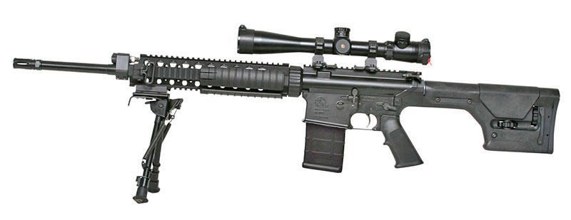 Винтовка AR-10T Super SASS со всеми «наворотами»