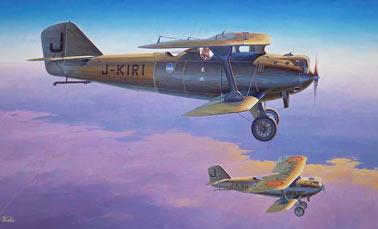 Разведывательный самолет «Breguet-19» (Br.19) (Франция)