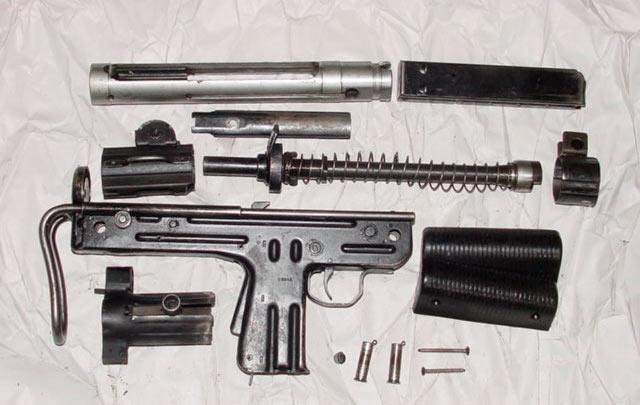 Как и говорилось - устройство пистолет-пулемета FMK-3 совсем не сложное