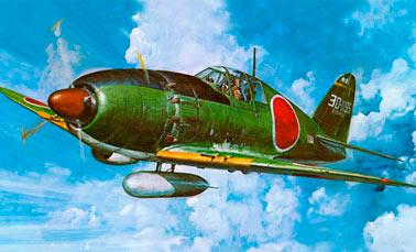 Истребитель J2M3 «Raiden» (Япония)