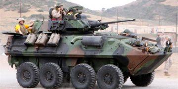 Колесная боевая машина LAV-25