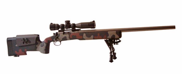 Снайперская винтовка морских пехотинцев США M40 с пластиковым ложем