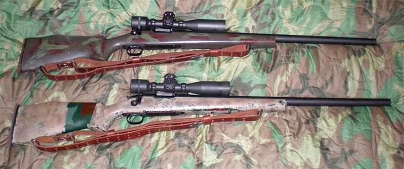 Снайперская винтовка морских пехотинцев США M40