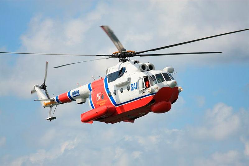 Поисково-спасательный вертолет-амфибия Ми-14 (Польша)