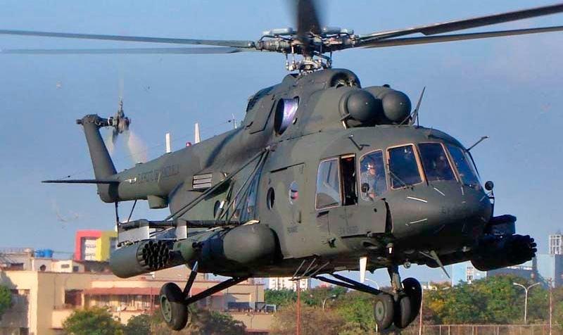 Многоцелевой вертолет Ми-17. Что не говори, но «родной» Ми-8 в «американской» окраске выглядит диковато