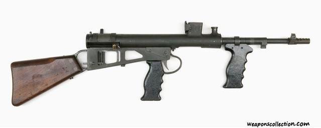 Пистолет-пулемет Оуэна, без магазина