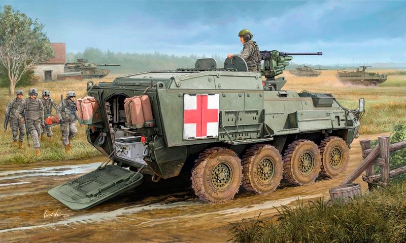 Stryker M1133 MEV - Вариант «Страйкера» в виде медицинской бронемашины