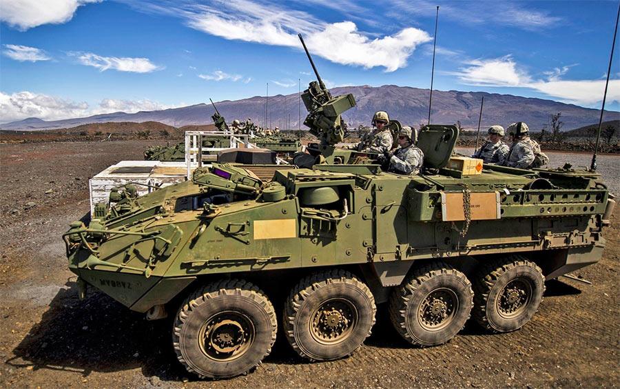 Боевая машина «Страйкер» (в варианте бронетранспортера) во все красе