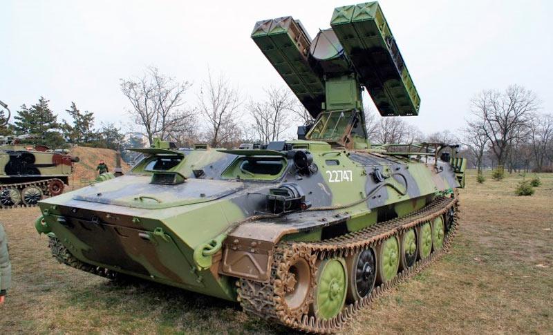 Самоходный зенитный ракетный комплекс «Стрела-10» 9К35