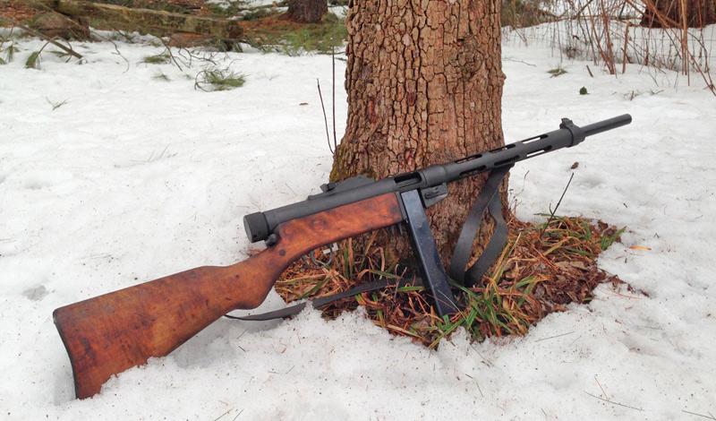 Финский пистолет-пулемет «Суоми»