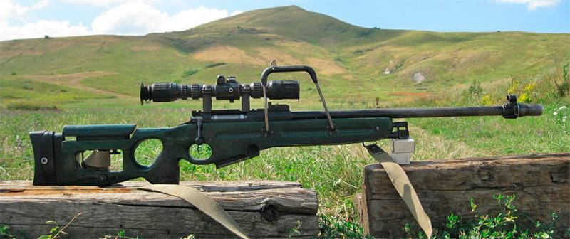 Российская снайперская винтовка СВ-98