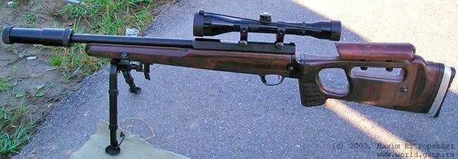 Ранний вариант снайперской винтовки СВ-99