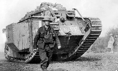 Танки в Первой Мировой войне (1914-1918 г.г.) и после неё, 1 часть