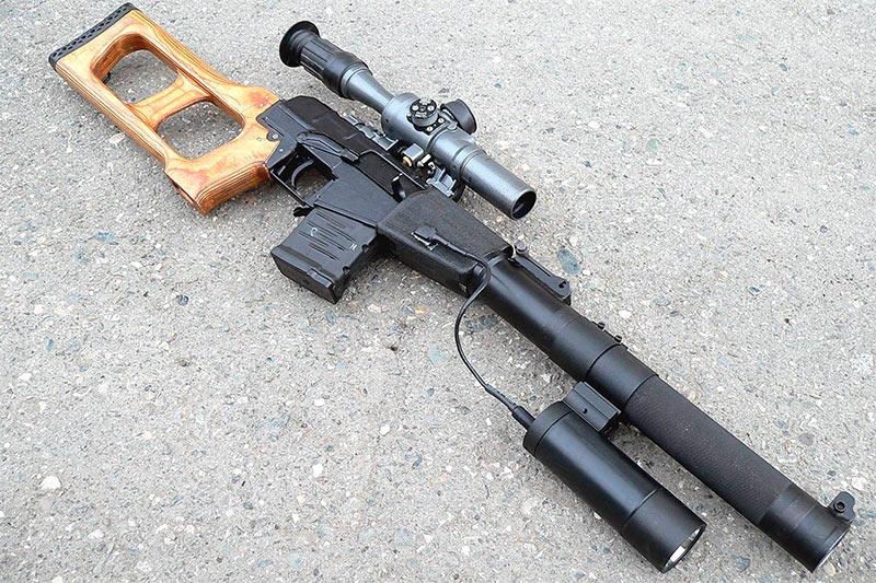 Винтовка снайперская специальная «Винторез»