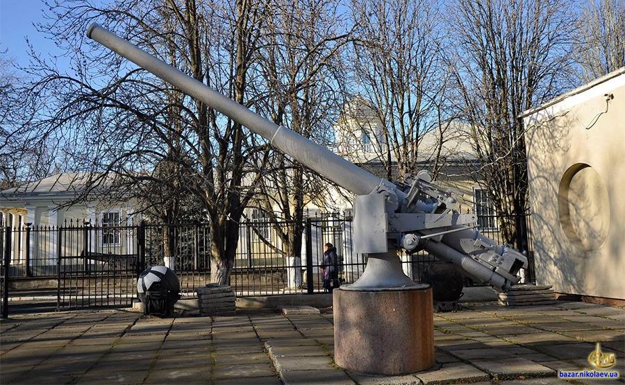 102-мм корабельное орудие Обуховского завода, образца 1911 г.