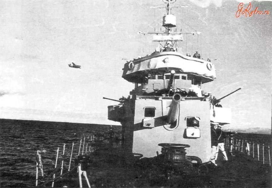 130-мм корабельное орудие Б-13 на лидере эсминцев «Баку»