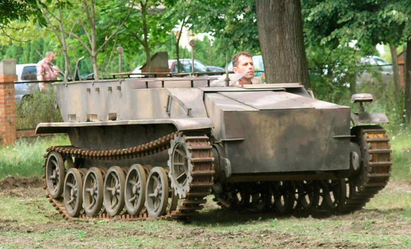 Телеуправляемая танкетка B-IV (Sd.Kfz.301)