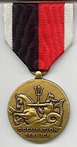 """Флотская медаль """"За службу в оккупационной зоне"""" (Navy Occupation Service Medal)"""