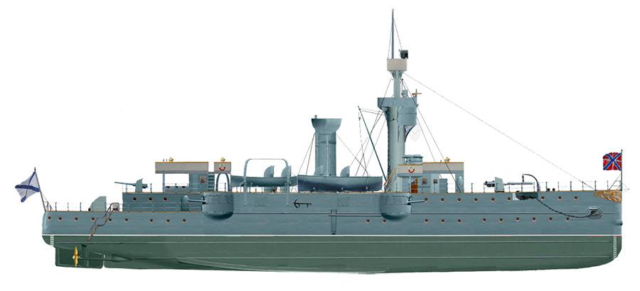 Канонерская лодка «Гиляк», 1898 г.