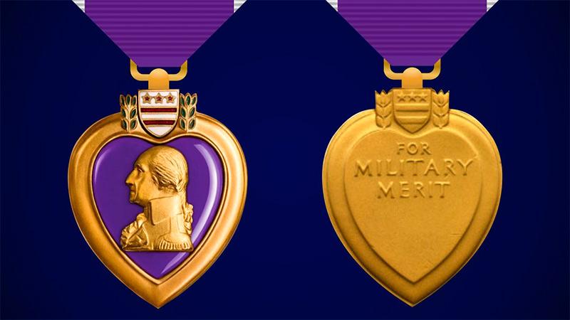 "Медаль ""Пурпурное сердце"" (Purple Heart)"