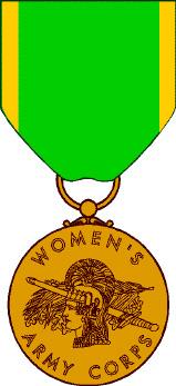 Медаль женского армейского корпуса (Women's Army Corps Service Medal)