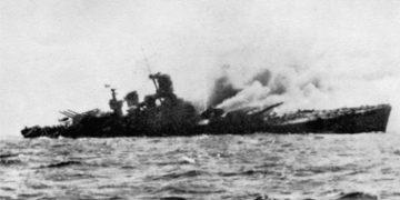 Гибель итальянского линкора «Рома» 9 сентября 1943 г.