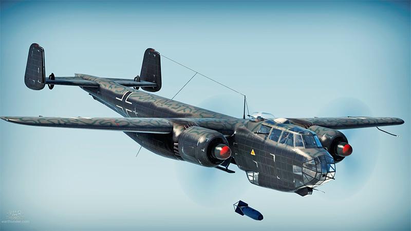Немецкий бомбардировщик типа «Дорнье-17»