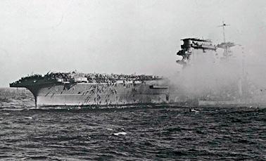 Гибель авианосца «Лексингтон» 8 мая 1942 года