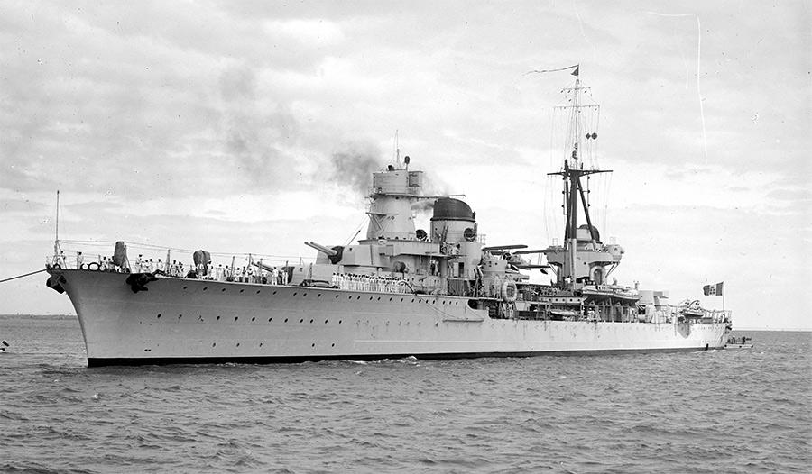 Итальянский крейсер «Раймондо Монтекукколи» - прототип для «Кирова»