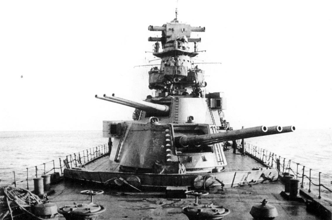 Главный калибр легкого крейсера «Киров»