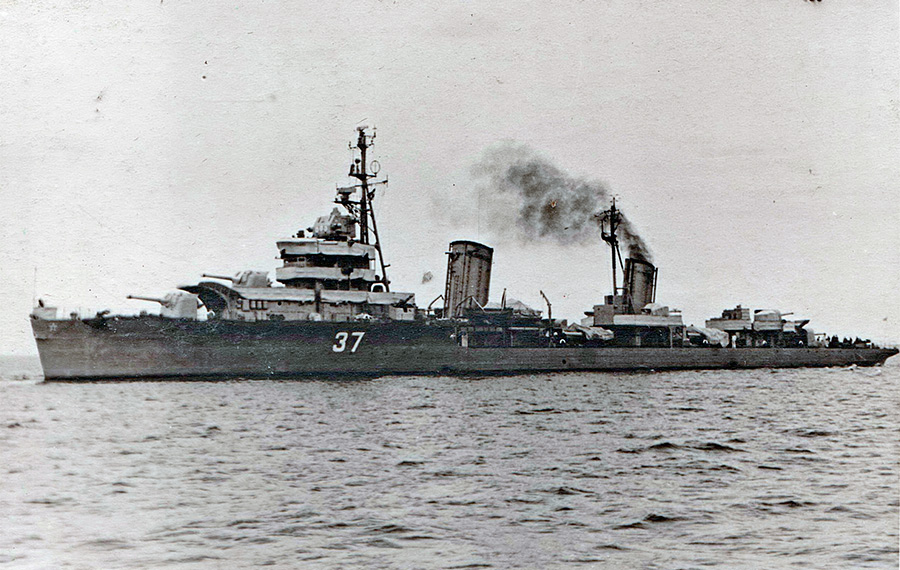 Лидер эсминцев «Ленинград» в 1950-х г.г.