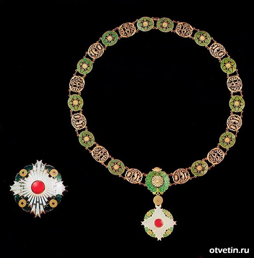 Орден Хризантемы с цепью