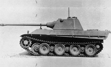 Тяжелый танк Pz.V «Panther II»