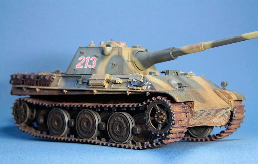 Тяжелый танк Pz.V «Panther II», модель