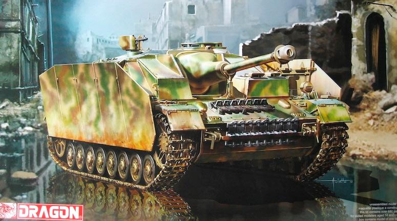 StuG IV с дополнительной защитой бортов