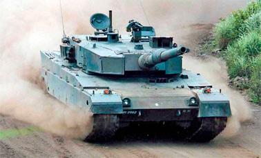 Японский основной боевой танк «тип 90»