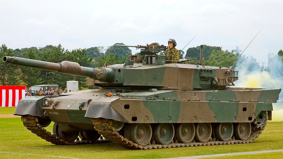 Влияние немецкой танковой школы сказывается на облике танка «Тип 90» довольно значительно