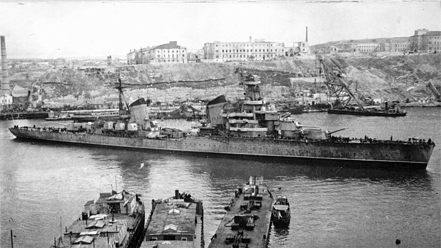 Советский легкий крейсер «Ворошилов» проекта 26