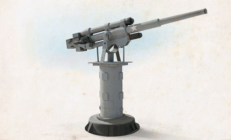 Универсальная (зенитная) 45-мм пушка 21-К