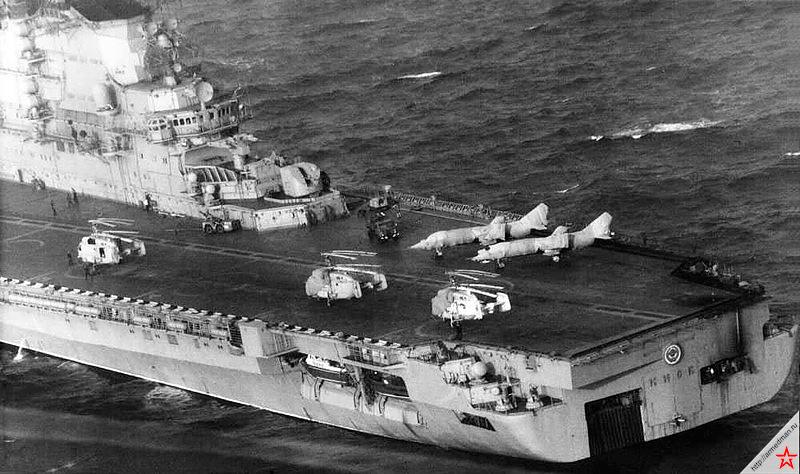 Будни тяжелых авианесущих крейсеров проекта 1143