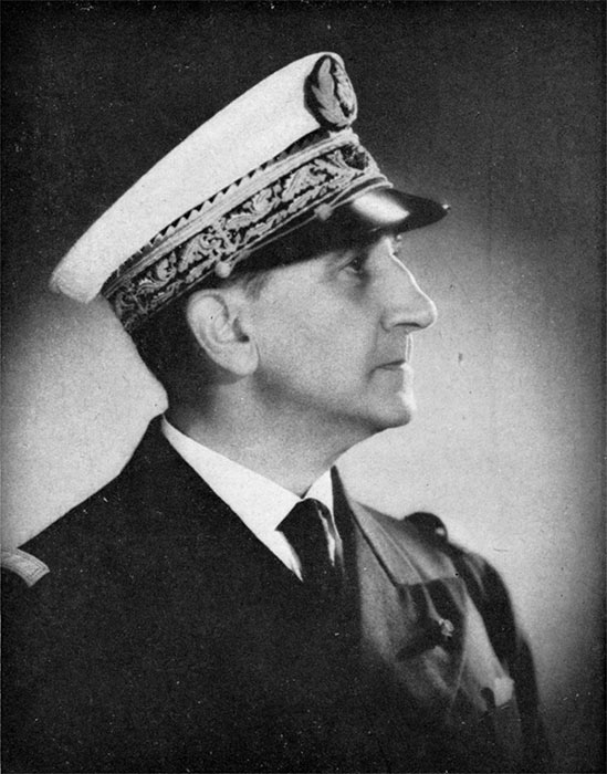 Капитан 1 ранга Режи Беранже командующий французскими силами в бою у Ко-Чанга