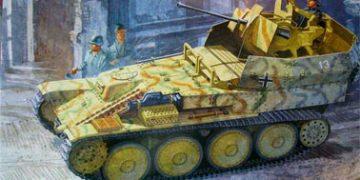 Зенитная самоходная установка Flakpanzer 38 (t) (Sd.Kfz.140)