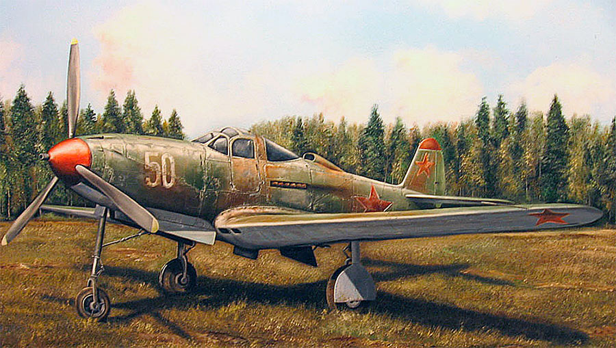 Ещё один «русский американец» - P-39 «Аэрокобра»