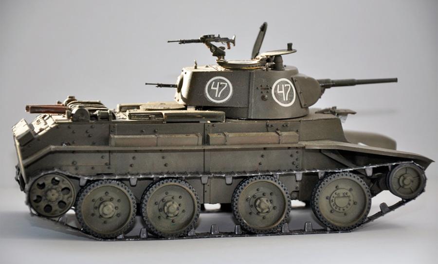 БТ-7М - первый советский «дизель»